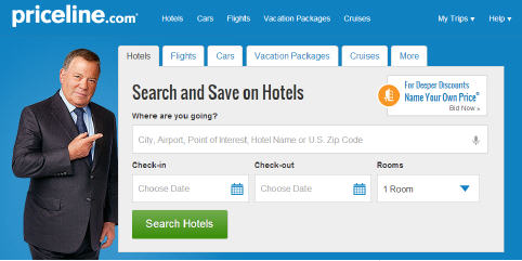 Priceline Flights Hotels Cars Vacation Packages