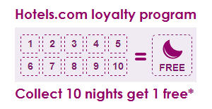 Hotels.com loyalty program