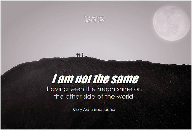 Travel Quote I Am Not The Same