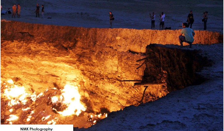 The Door to Hell, Derweze, Turkmenistan
