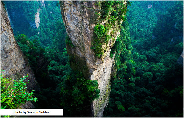 Zhangjiajie National Forest Park, Hunan Province, China