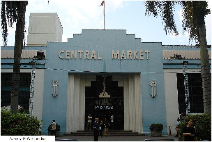 25 must visit in Malaysia Pasar Seni (Central Market), Kuala Lumpur