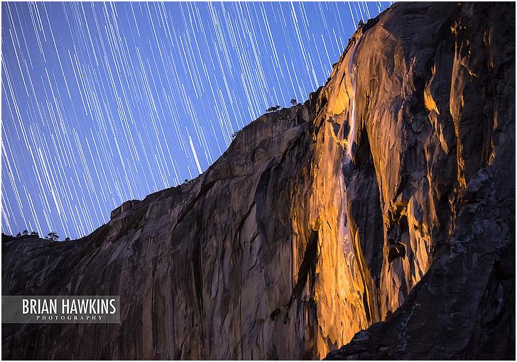 Horsetail Fall, Yosemite National Park, Oregon