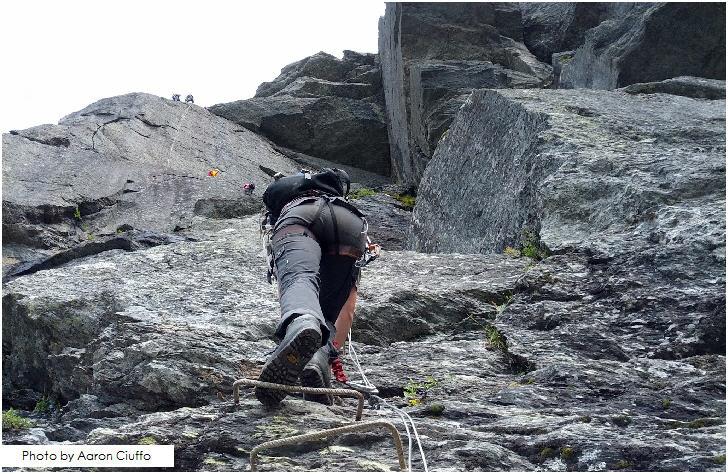 Hiking and climbing around Odda