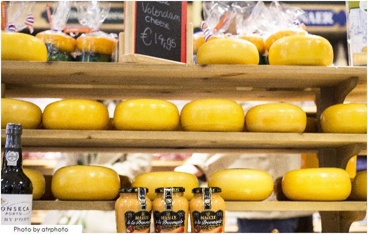 Volendam cheese, Amsterdam