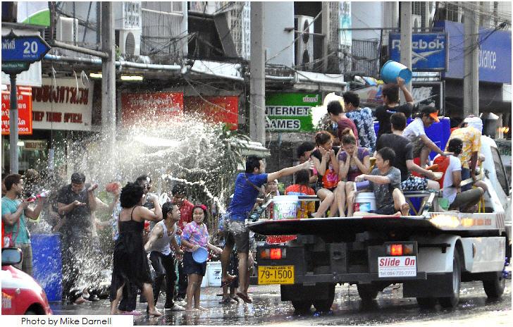Bangkok, Songkran Festival