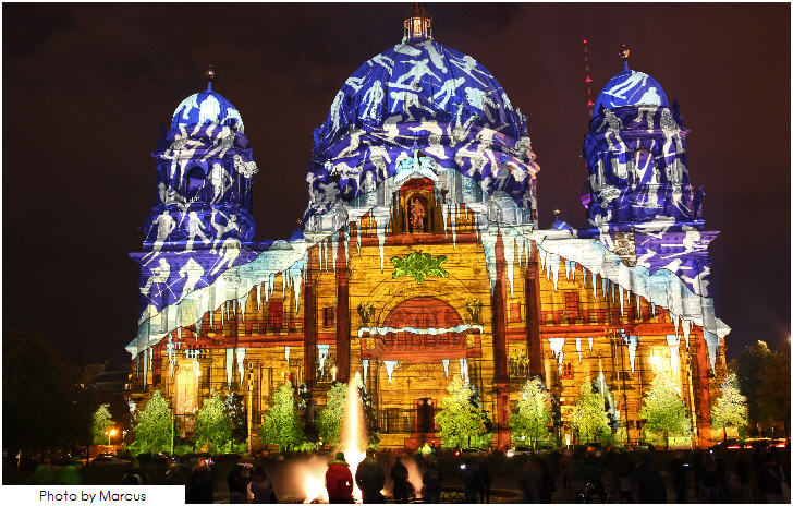 Festival of Lights, Berliner Dom, Berlin