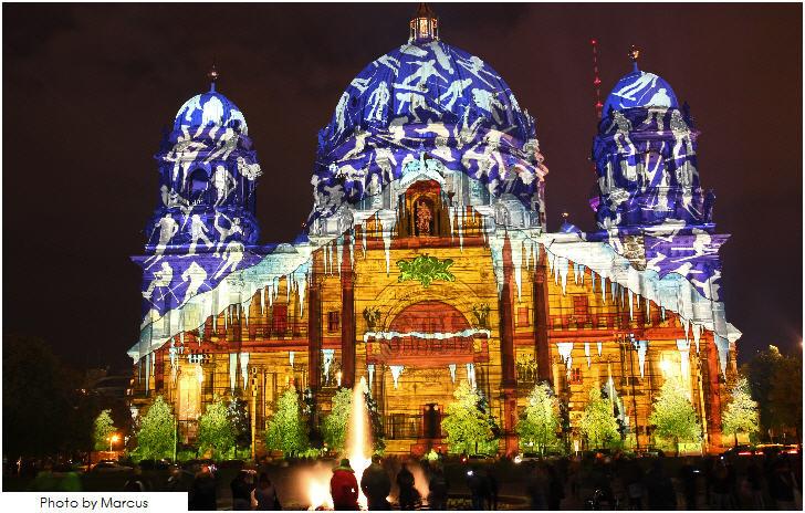 Festival of Lights, Berliner Dom, Berlin