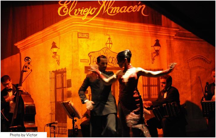 Inside Tango House El Viejo Almacén, Buenos Aires