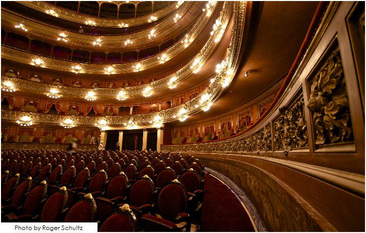 Main auditorium Teatro Colón, Buenos Aires