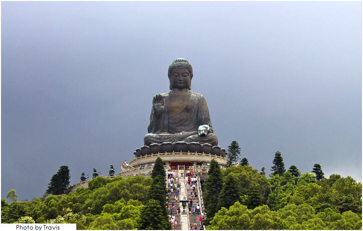 Tian Tan Buddha, Ngong Ping, Lantau Island, Hong Kong