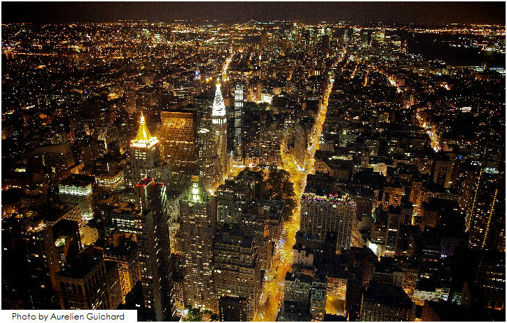 New York City, View from the Empire State Building