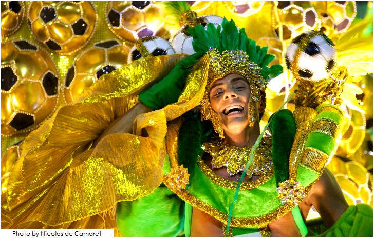 Carnaval 2014 in Rio de Janeiro