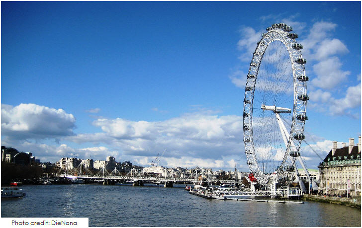 The London Eye, 20 Top London Attractions
