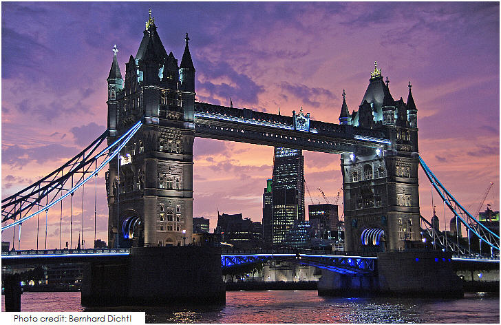 Tower Bridge, 20 Top London Attractions