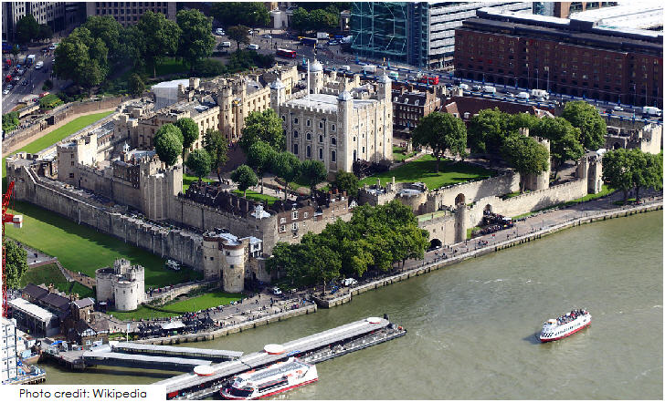 20 Top London Attractions, Tower of London