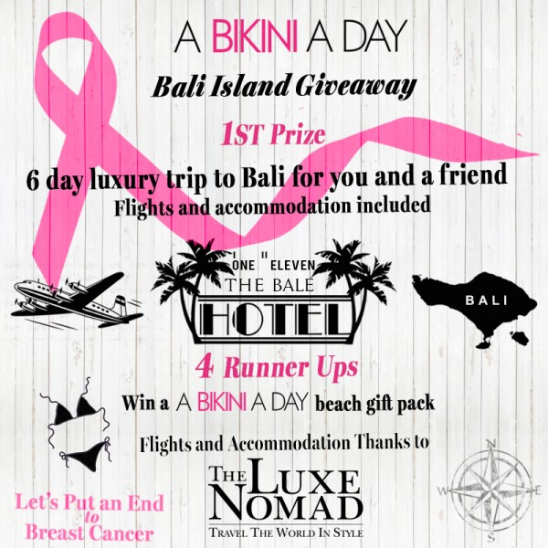 INSTAGRAM BALI THE LUXE NOMAD A BIKINI A DAY GIVEAWAY