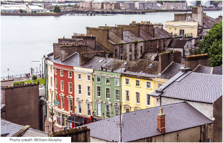 Ireland, Cobh, the last port of call for Titanic, County Cork
