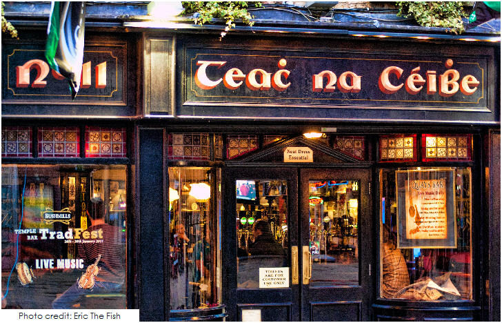 Ireland, Teac Na Ceibe, Temple Bar Dublin