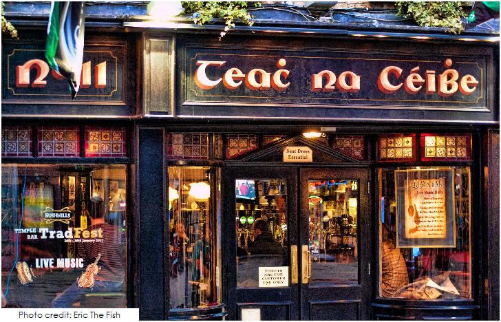 Ireland, Teac Na Ceibe, Temple Bar Dublin
