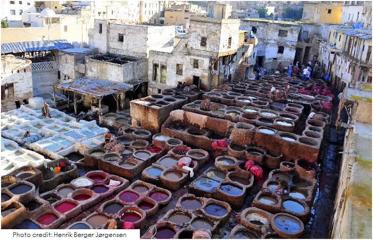 Tannery, Fès, Morocco