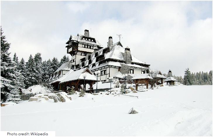 Serbia Nebeske Stolice hotel at Kopaonik