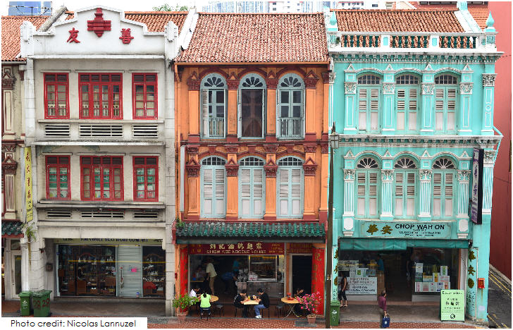 Singapore Shophouses Chinatown