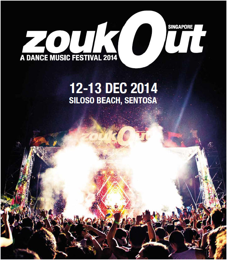 ZoukOut A Dance Music Festival 2014 Singapore