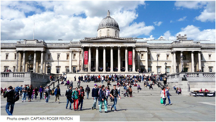 National Gallery, 20 Top London Attractions
