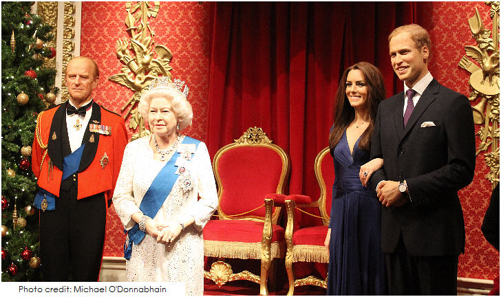 Royal Familiy, Madame Tussauds, 20 Top London Attractions,