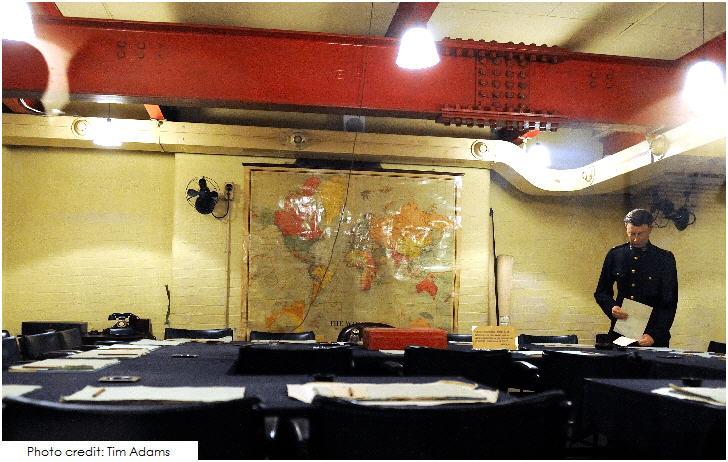 War Cabinet room, Churchill War Rooms, 20 Top London Attractions