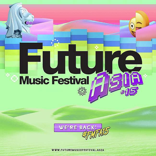 Future Music Festival Asia (FMFA15) 2015, Singapore