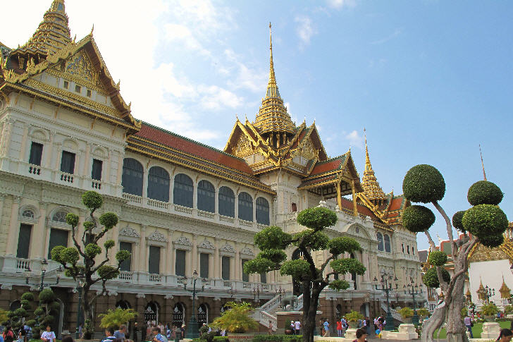 Chakri Maha Prasat, Grand Palace, Bangkok