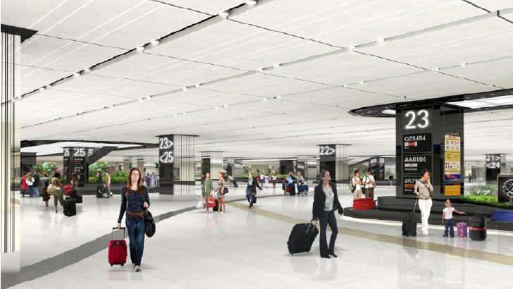 More room for additional baggage belts and increased spatial comfort