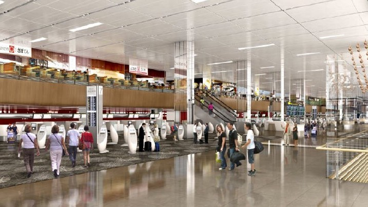 Revamp of T1 Departure Hall to incorporate self-service check-in channels