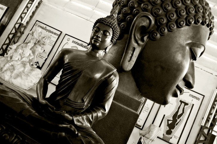 A Buddha seated in Meditation by Piman Muipramuk, National Museum, Bangkok