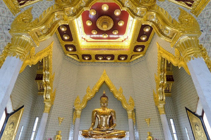Golden Buddha, Wat Traimit, Bangkok