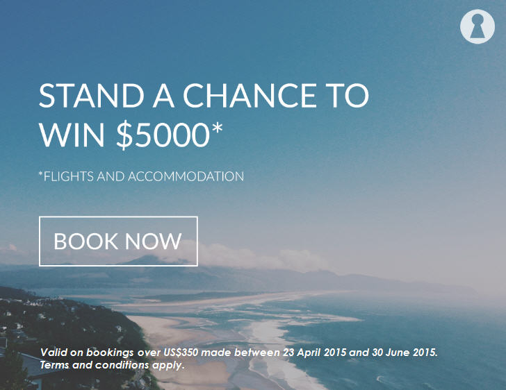 Roomorama Win $5000 in flights and accommodation