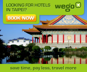 Looking for Hotels in Taipei