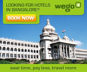 Looking for hotels in Bangalore
