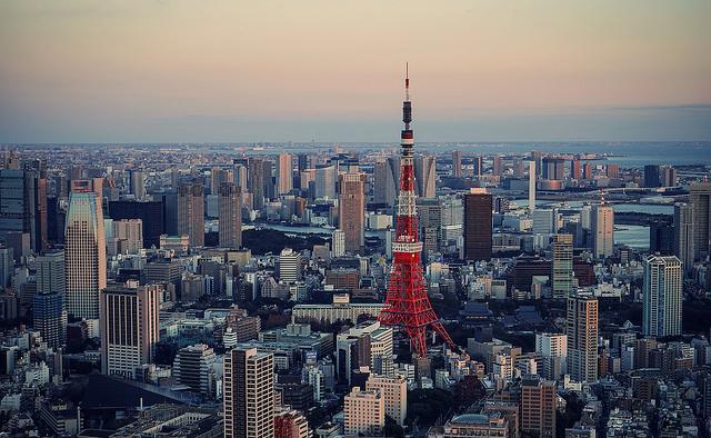 Tokyo Tower, Roppongi Hills, Tokyo, Japan