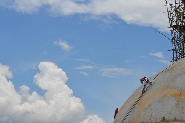 Repairing the Boudhanath Stupa Post-Earthquake
