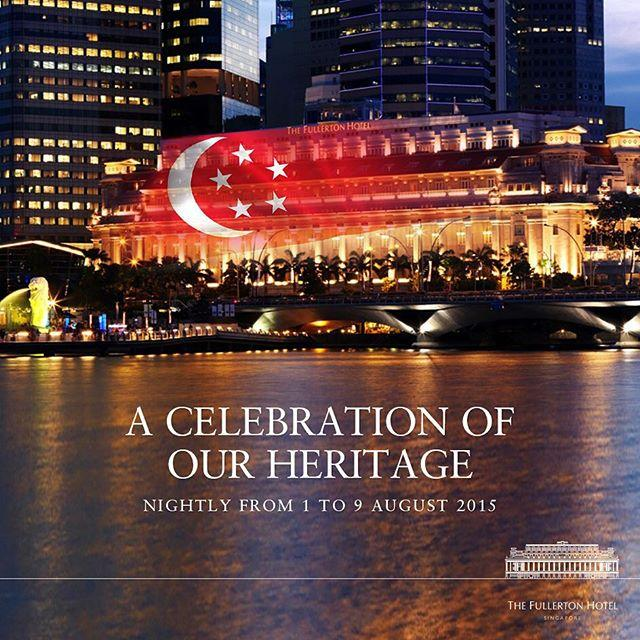 SG50 tribute A Celebration of Our Heritage Fullerton Hotel