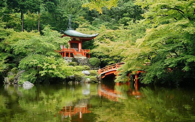 Bentendo Hall, Daigo-ji Temple, Kyoto