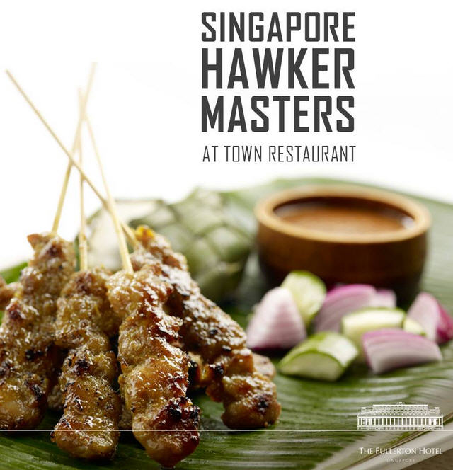 Hawker Masters at Town Restaurant, Fullerton Hotel Singapore