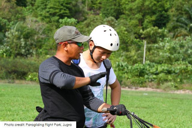 Paragliding Flight Park, Jugra