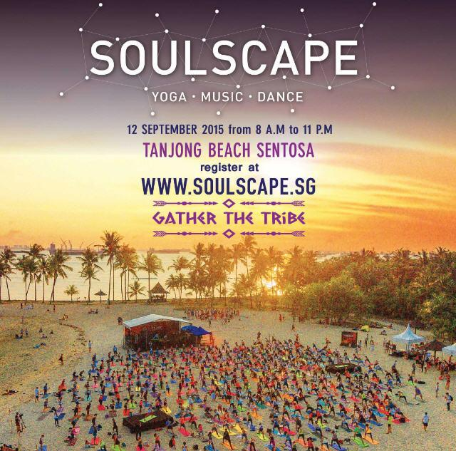 SOULSCAPE Yoga Festival Singapore 2015