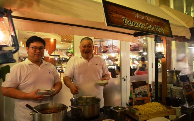 The Fullerton Hotel - Hawker Masters Dinner Buffet 2015 - Yuan Chun Famous Lor Mee