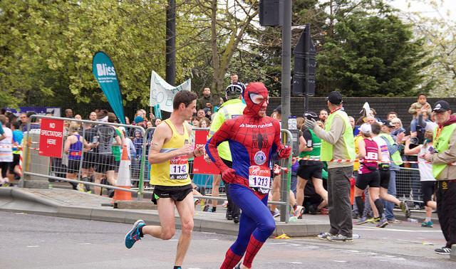 Speedy Spider-Man is best of the record-breakers at 2015 Virgin Money London Marathon, Marathons worth traveling the world for