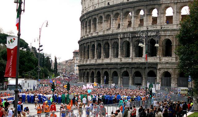 Maratona di Roma, Rome, Italy